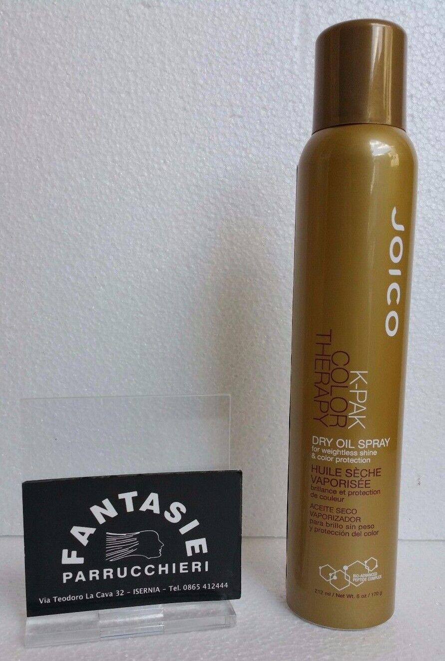 JOICO K-PAK Color Therapy Dry Oil Spray 212ml olio spray protezione termica