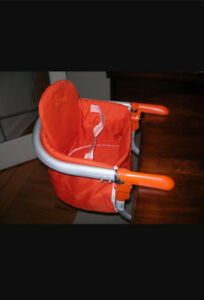 Momma Travel Chair Hook On. Hanging Chair. Orange .Brand new