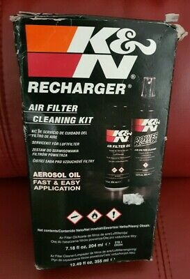 K&N 99-5003 Air Filter Cleaning Care Recharger Kit & Squeeze Oil - brand new