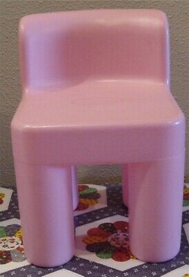Little Tikes Pink Child Size Chair Chunky Nice Clean
