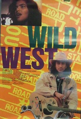 Wild West Original Single Sided Movie Poster Naveen Andrews Sarita Choudhury