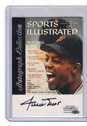 Willie Mays Auto