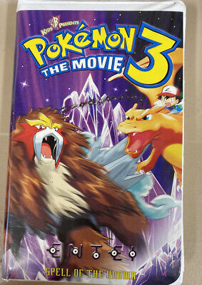 Lot Of 3 Pokemon ( VHS Tapes)