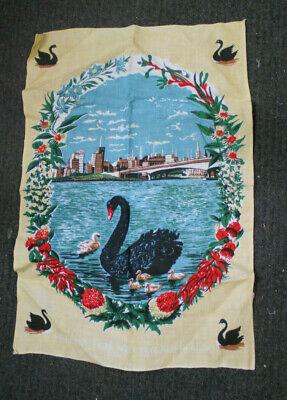 #KK2.   WESTERN AUSTRALIA   SOUVENIR  TEA TOWEL