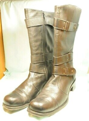 Kenneth Cole New York Black Leather Boots size UK8 US10 very good condition