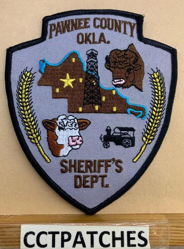 PAWNEE COUNTY, OKLAHOMA SHERIFF (POLICE) SHOULDER PATCH OK