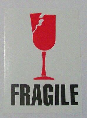 500 3x4 Fragile Imp International Safe Handling Shipping Label