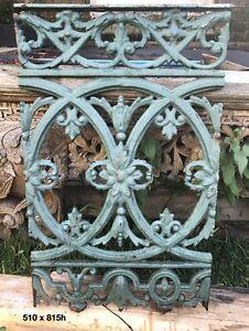 Cast Iron Lacework Balcony (Balustrade) Panels Petersham Marrickville Area Preview