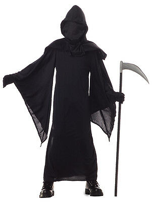 Scary Horror Robe Evil Death Halloween Child - Childrens Scary Costumes