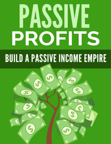 PASSIVE INCOME EBOOK PDF WITH FREE SHIPPING AND RESELL RIGHTS