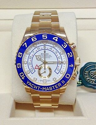 Rolex Yacht-Master II 116688 Yellow Gold - Box & Paperwork - May 2018 - Unworn