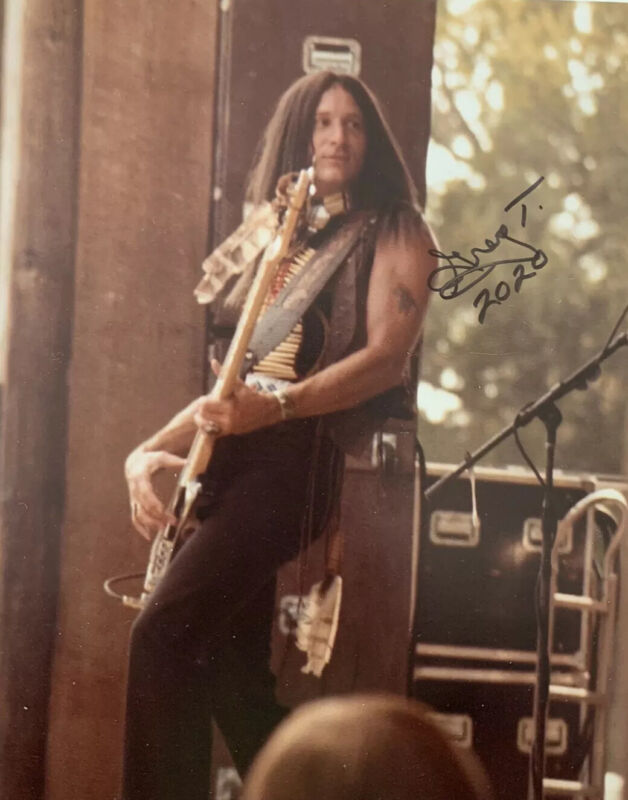 GREG T WALKER HAND SIGNED 8x10 PHOTO AUTOGRAPHED AUTHENTIC RARE BLACKFOOT GUITAR