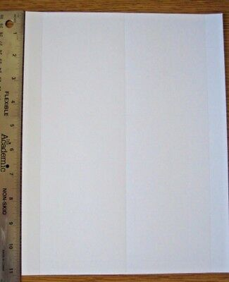 50 cards (5 sheets) blank Business Card Stock 3.5