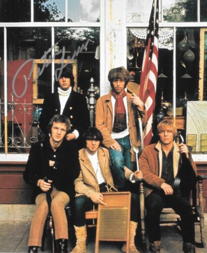 * PETER LEWIS * signed 8x10 photo * MOBY GRAPE * COA * 7
