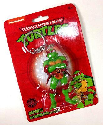 NEW Nickelodeon Teenage Mutant Ninja Turtle RAPHAEL KEYCHAIN Raph Red Figure - Red Ninja Turtle