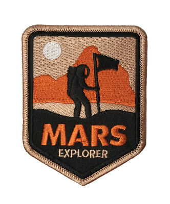 Mars Explorer Embroidered Iron On / Sew On Patch Appliqué NASA Space - Space Crafts