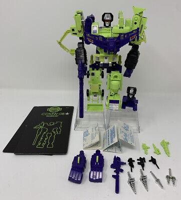 Vintage Hasbro G1 Transformers Figure 100% Complete DEVASTATOR w/ UPGRADES