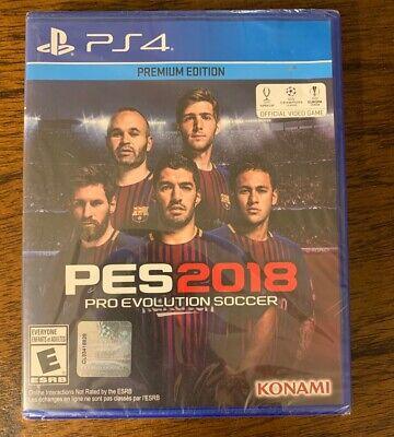 Pro Evolution Soccer 2018: Premium Edition New & Sealed (PS4)