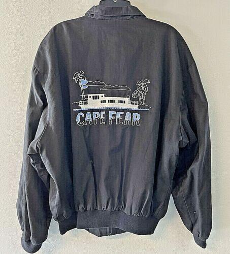 1991 Cape Fear Movie Crew Jacket XL - De Niro Nolte Lewis Film Prop Gift RARE