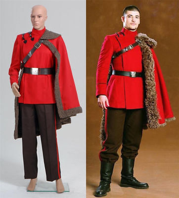 ViKtor Krum Suit Cape Outfit uniform Cosplay Costume custom made NN.105](Viktor Krum Costume)