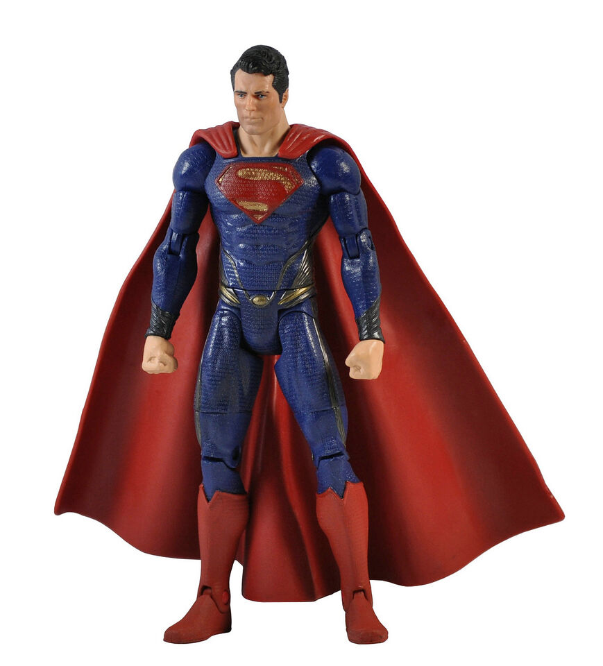 "DC COMICS 6"" SUPERMAN MAN OF STEEL MOVIE ACTION FIGURE Loose Toy U15"