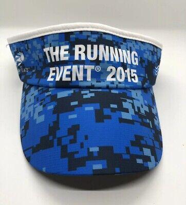 big sale ade57 ffe53 Headsweats The Running Event 2015 Visor Cap Hat Adult L-XL
