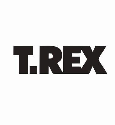 T Rex Music Band Vinyl Die Cut Car Decal Sticker-FREE (Rex Music)