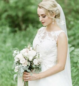 Ivory Wedding Dress For Sale