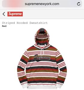 BRAND NEW SUPREME HOODIE SS18 Size Large