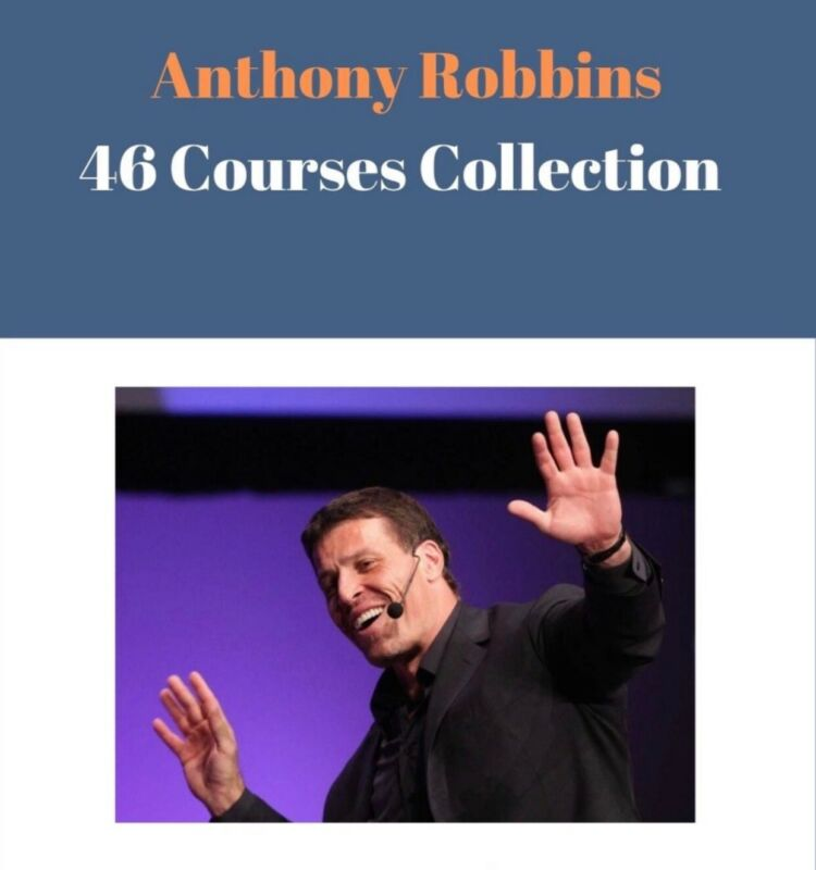 Tony Robbins - 46 Courses