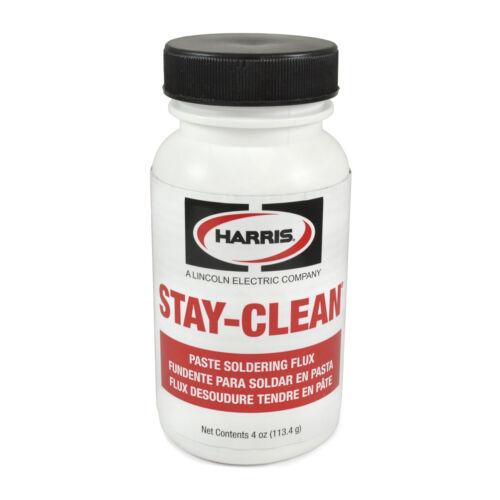 Harris Stay-Clean Solder Flux Paste 4 ounce Jar, 40027 SCPF4