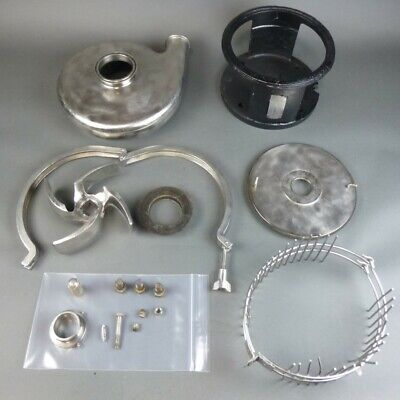 Tri-flo 3x2 Stainless Pump Sanitary Flange Open Impeller C328md21t-s