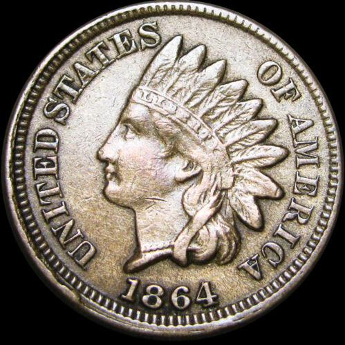 1864 Indian Head Cent Penny --- Copper Nickel --- #C144