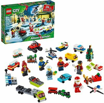 New LEGO CITY 2020 Advent Calendar 60268 Christmas Countdown Santa Tree 24 Gifts