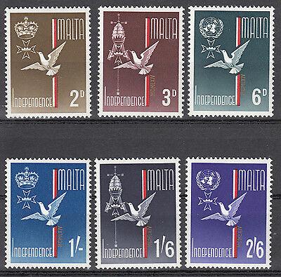Malta Nr. 292-297** Unabhängigkeit / independence