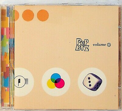 Pop Biz Volume 3 The Best of Indie Rock 90s JAPAN CD (Holly Golightly/Curd