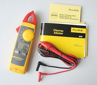 New Fluke 362 F362 Handheld Digital Multimeter Clamp Meter Tester Acdc True-rms