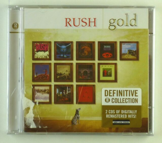 2x CD - Rush - Gold - #A1983 - Neu