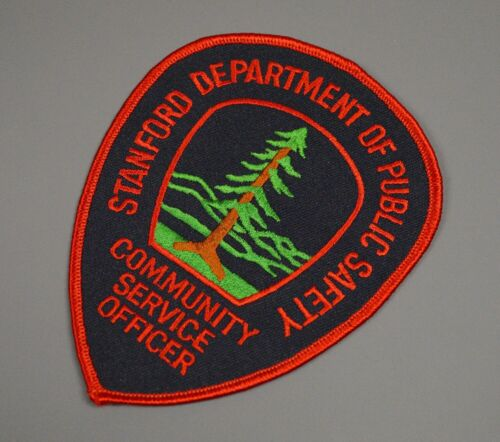 Stanford California Public Safety Community Service Officer Patch