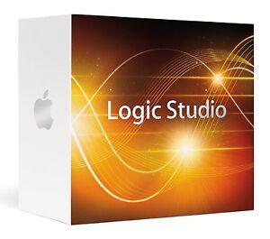 Apple Logic Studio 2.0 Logic Pro 9 MainStage 2 Soundtrack Pro 3 MB795Z/A DVD NEW