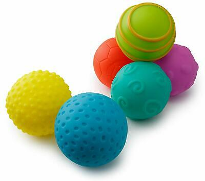Playkidiz Super Durable 6 Pack Balls, Soft for Toddlers Stress Relief Toy