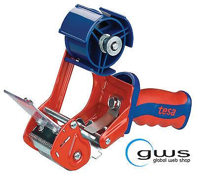 Handabroller 6400 tesa bis 50mm mit Rollenbremse und verdecktem Messer