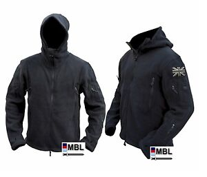 TACTICAL MILITARY RECON FLEECE & 2 UNION JACKS SAS, POLICE, CADETS, SBS