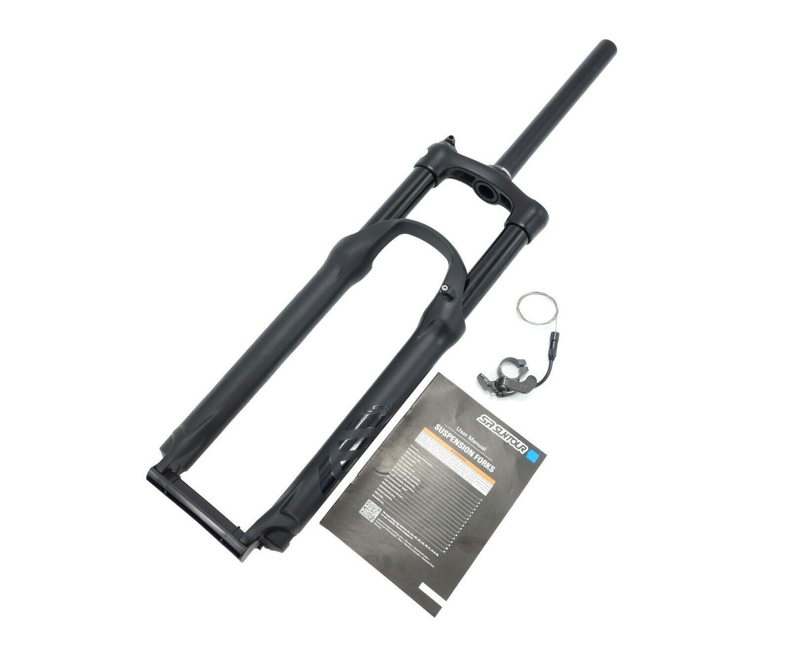 SUNTOUR New Epixon Remote Lock MTB XC DH Bike Fork 26