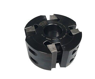 Wadkin Moulding Cutter Block -122 Dia X 40 Bore Z4 X 60mm Wide - Eu Made
