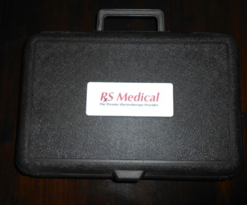 RS MEDICAL RS-OA KNEE SYSTEM, TENS therapy BOX CASE ONLY