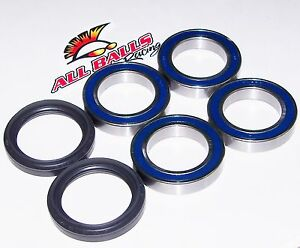 2004-2005 YAMAHA YFZ450 * ALL BALLS REAR WHEEL AXLE BEARINGS/SEALS 25-1456