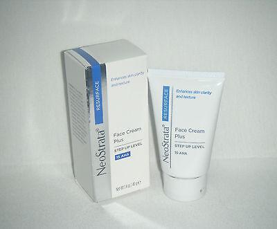 Neostrata Resurface Face Cream Plus Step Up Level 15 Aha 1.4 Oz Bnib