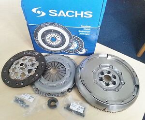 PEUGEOT-PARTNER-1-6-HDi-06-DUAL-MASS-FLYWHEEL-CLUTCH-KIT-RELEASE-BEARING-SACHS