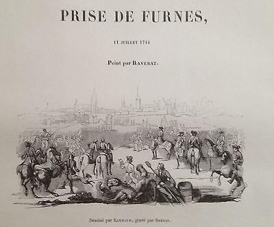 Veurne veldslag 1744 Lodewijk XV
